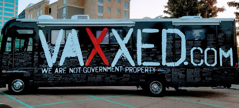 Vaxxed Bus Starts Spring Tour In Louisiana