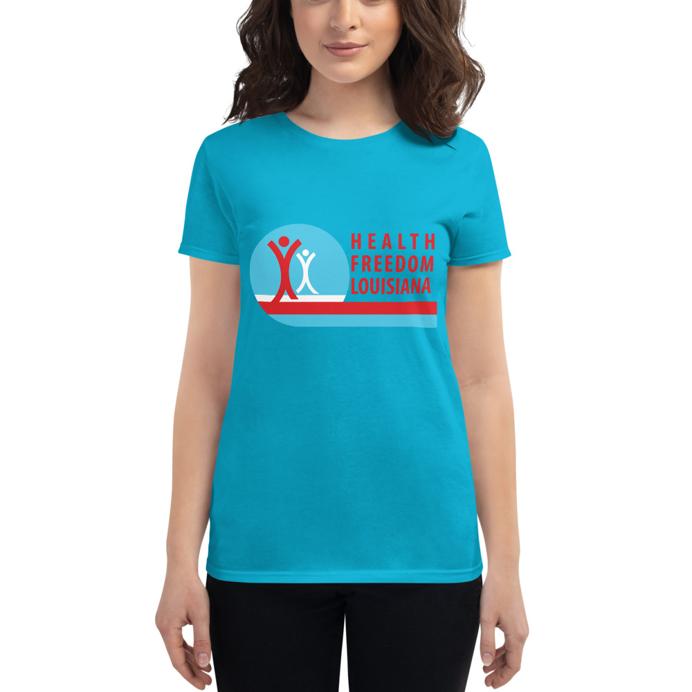 HFL Logo & Be Braver Women's Short Sleeve T-Shirt (print On Front & Back)