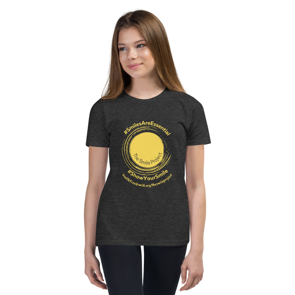 Smile Project Youth UNISEX Short Sleeve T-Shirt