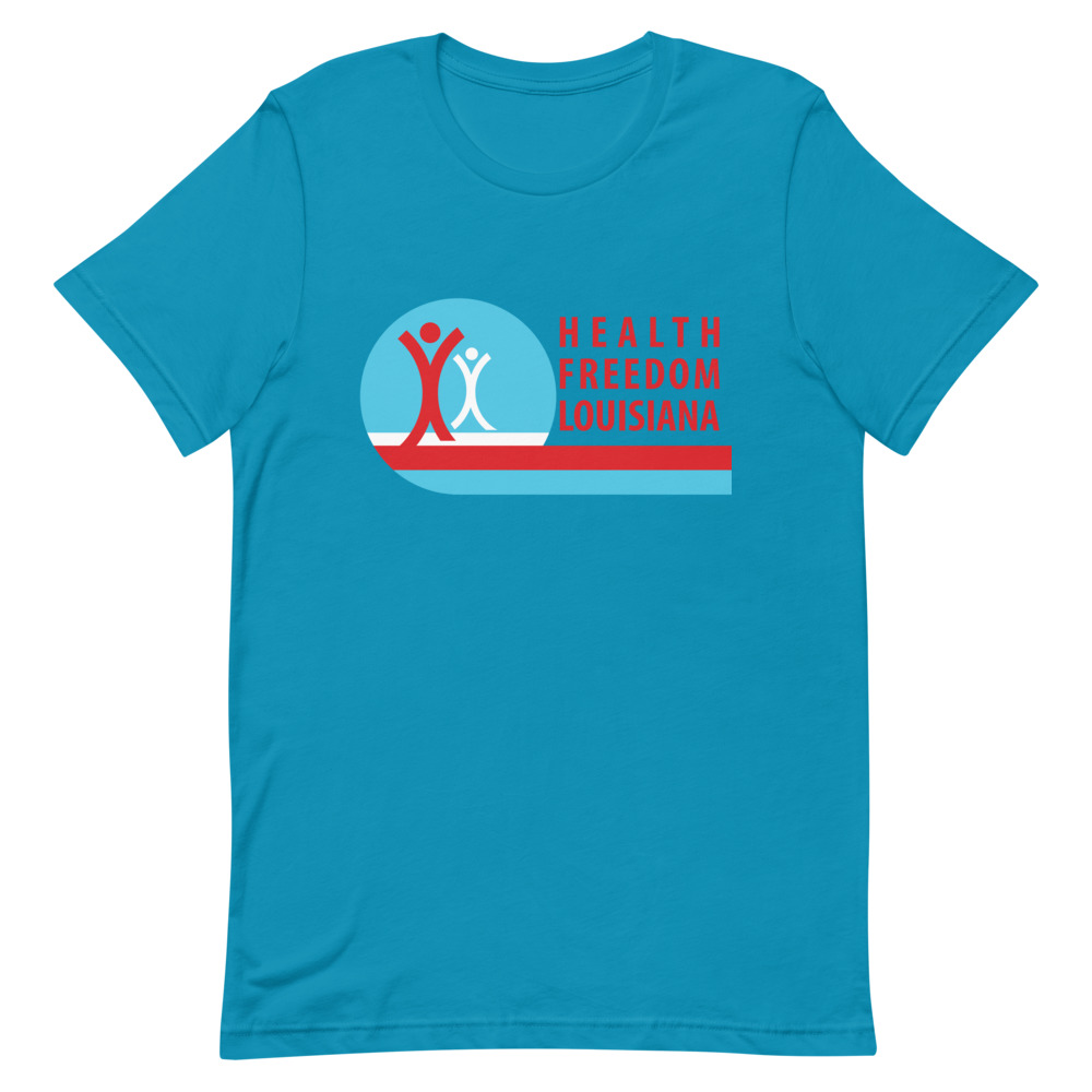 HFL Logo (front) & Be Braver (back) Unisex T-Shirt